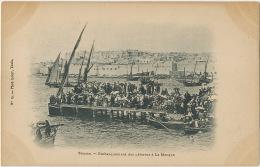 Pilgrimage To Mecca From Sousse Tunisia Embarquement Des Pèlerins Edit No 15 Phot Louis Tunis Undivided Back Before 1903 - Arabie Saoudite