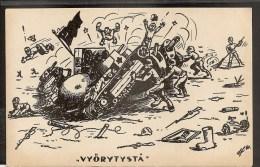 Russia  RUSSIE Russland Finland 1939 Soviet-Finnish War, Stalin On Ground - Russia