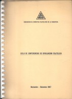 AVEDIS KETCHIAN - NESTOR M. FERRE - ENRIQUE OL. ROSASCO - ALGERIO NONIS CUATRO CONFERENCIAS ACFA AÑO 1987 - Handbücher