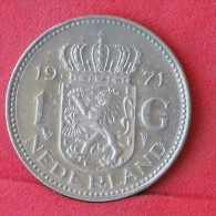NETHERLANDS  1  GULDEN  1971   KM# 184a  -    (Nº11757) - [ 3] 1815-… : Regno Dei Paesi Bassi
