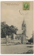St Croix Frederiksted Roman Catholic Church D.W.I. Danish West Indies Edit Benjamin Used To Cuba - Antilles Neérlandaises
