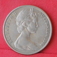 AUSTRALIA  20  CENTS  1966   KM# 66  -    (Nº11765) - Victoria