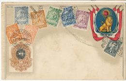 Carte Philatelique   OZM  Ottmar Zieher  No 64 Paraguay P. Used Honolulu Hawaii 1908 - Paraguay