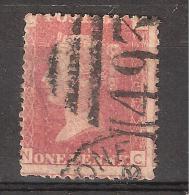 GB, Victoria, Yvert N° 26 , 1 Penny Rouge, Obl Planche / Plate 184   Obl Part Cds Cancel TB, - 1840-1901 (Viktoria)