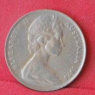 AUSTRALIA  10  CENTS  1974   KM# 65  -    (Nº11772) - Victoria