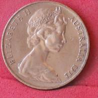 AUSTRALIA  2  CENTS  1972   KM# 63  -    (Nº11781) - Victoria