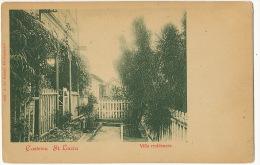 Ste Lucie St Lucia Castries Villa Residences  1896 J. Le Grand  Undivided Back - Sainte-Lucie