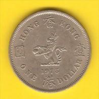 HONG KONG   $1.00 DOLLAR  1973  (KM # 31.1) - Hong Kong
