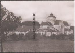 36 - FONTGOMBAULT--Le Monastere Vu Des Jardins - Frankreich
