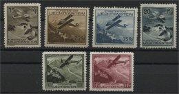 LIECHTENSTEIN,  AIRPOST 1928 UNUSED HINGED F/VF - Poste Aérienne