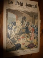 1900 LE PETIT JOURNAL :Gravures Couleurs (PAO-TING-FOU Chine ; Le CANADA à L'Expo ; Les Soldats Arrêtent Des Voleurs - Journaux - Quotidiens