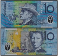 AUSTRALIA TEN (10) Dollars 2002 - POLYMER - 2001-2003 (polymer Notes)