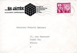 HONGRIE. N°1575 De 1964 Sur Enveloppe Ayant Circulé. Téléphone. - Telecom