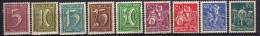 Deutsches Reich, 1921, Mi 158-162; 165-166; 168; 170 ** (Mi 160 *) [230515XII] - Deutschland