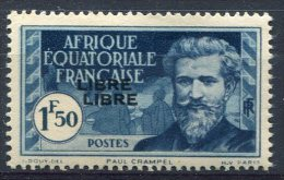 (A.E.F)  Afrique équatoriale Française      118a  ** - Nuevos