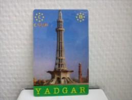 Prepaidcard Yadgar Belgium 12,50 euro Used Rare 2 Scans