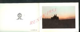 MILITARIA : CDV CARTE DE VISITE ILLUSTREE : CAPITAINE J. P HOGARD 1er RG ETRANGER DE CAVALERIE LEGION ETRANGERE RCC CHAR - Visiting Cards