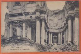 Carte Postale  62. Arras Bombardée Guerre 1914  1918  Trés Beau Plan - Arras