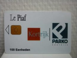 Carte Piaf Kortrijk  03/06 Not Perfect  Used Tirage 1000 Ex  2 Scans Rare - France