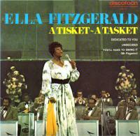 * LP *  ELLA FITZGERALD - A TISKET - A TASKET (Dutch Only On Discofoon 1971 EX!!!) - Jazz