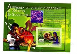 GUINEE-2007-PAUL MC CARTNEY-PONGO PYGMAEUS -SCOUTISME-2007/YT B571***vendu 12 En Nouveauté - Zangers