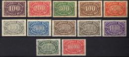 Deutsches Reich, 1922, Mi 247-257 ** (Mi 247; 253; 256 *) [230515XII] - Deutschland
