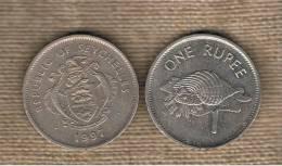 SEYCHELLES - 1 Rupia 1997  KM50.2 - Seychelles