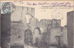 14526# BLANC CPA CASBAH BEN AHMED Obl CASABLANCA 1910 CAMPAGNE DU MAROC Cote 50 Euros - Morocco (1891-1956)