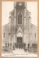 St. PALAIS (B.P.) - Sortie De La Messe - EGLISE - Saint Palais