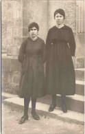 Portrait de deux femmes - Carte-photo