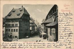 NURNBERG- GRUSS AUS-ALBRECHT DURER HAUS - Nürnberg