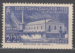 France 1939 Yvert#430 Mint Hinged (avec Charnieres)