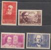 France 1939 Yvert#436-439 Mint Never Hinged (sans Charnieres)
