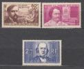 France 1940 Yvert#462-464 Mint Never Hinged (sans Charnieres)