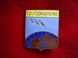 INSIGNE ARMEE DE L AIR 1 ERE DIVISION AERIENNE FAB MOURGEON