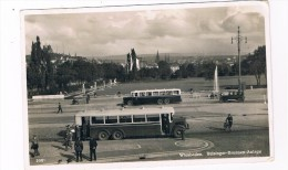 D5268    WIESBADEN : Reisinger-Brunnen-Anlage ( Bus) - Wiesbaden