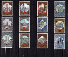 1979/ 1980 USSR - Tourism - Capitals Of USSR Republics Kieve, Misnk, Erevan, Tallinn, Tbilisi - 2 Sets Of  6 V - MNH** - Klöster