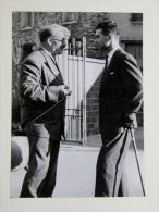 Photographie De 1949 Expo Horticulture D Athis Mons  école Des Gravilliers MR LION BRUNEL / PIERRE LIGEY - Personnes Identifiées