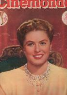 CINEMONDE : N° 707/1948 :  Ingrid  BERGMAN - Magazines