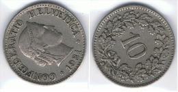 SUIZA 10 CENTS FRANC 1931 - Suiza