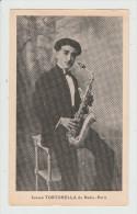 Ignace TORTORELLA De Radio-Paris,  Saxophoniste - Au Pavillon De SURESNES, Chez Rolland - Dancing - Carte Publicitaire - Suresnes