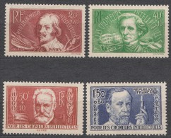 France 1936 Yvert#330-333 Mint Hinged (avec Charnieres)
