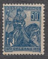 France 1929 Yvert#257 Mint Hinged (avec Charnieres)