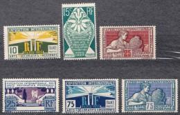 France 1924 Yvert#210-215 Mint Hinged (avec Charnieres)