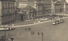 CPA - BRUSSEL - BRUXELLES - Palais Du Roi - Tram    // - Monuments, édifices