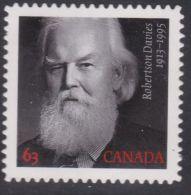 Canada, 2013, #2660i,  Robertson Davies, P Stamp Die Cut . Mnh - Carnets