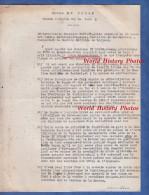 Document De Gendarmerie - Affaire LE POGAM , Hausse Illicite Sur Le Lait - Section Maritime De Lorient - Vers 1945 - Policia
