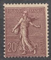 France 1903 Yvert#131 Mint Never Hinged (sans Charnieres) - 1903-60 Sower - Ligned