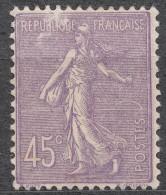 France 1924 Yvert#197 Mint Hinged (avec Charnieres) - 1903-60 Sower - Ligned