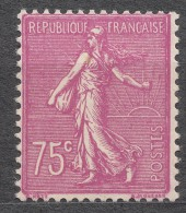 France 1924 Yvert#202 Mint Hinged (avec Charnieres) - 1903-60 Sower - Ligned